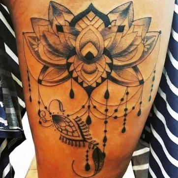 leg lotus