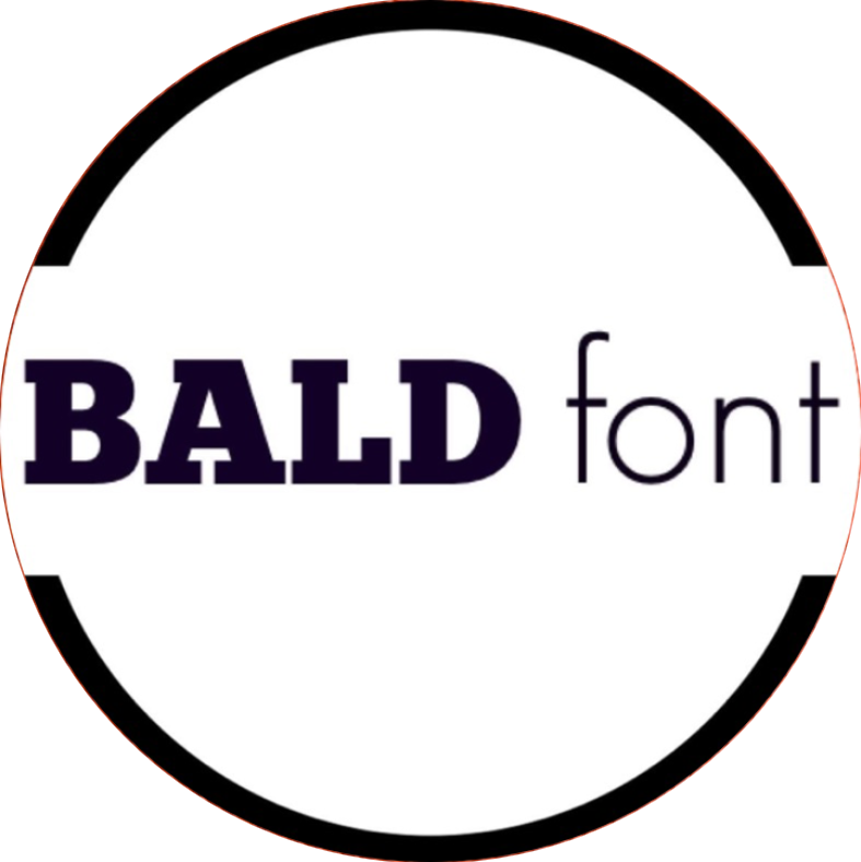 Stories In Bald Font